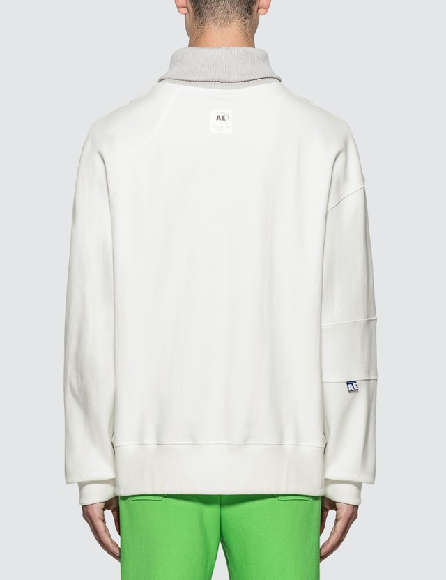 Ader Error Roll Neck Oversized Sweatshirt
