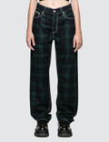 Eytys Benz Tartan Jeans Picture