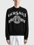 Versace Medusa Logo Sweatshirt Nero Men