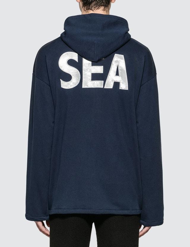 Wind And Sea Sea Big Zip Hoodie