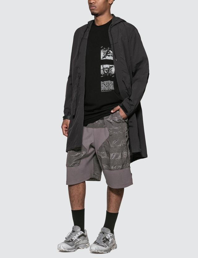 Stone Island Shadow Project Paneled Relax Shorts Peltro Men