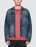 John Elliott Denim Zip Blouson Picture