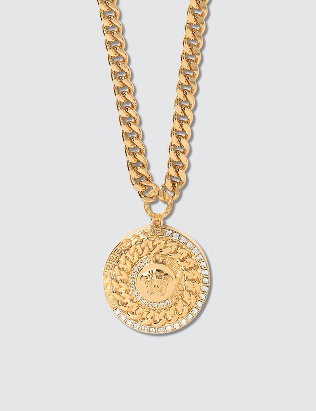 Versace Chained Medusa Necklace