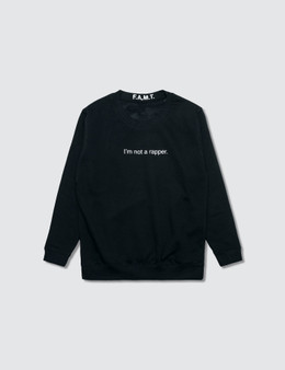 F.A.M.T. Kids' I'm Not A Rapper. Sweatshirt