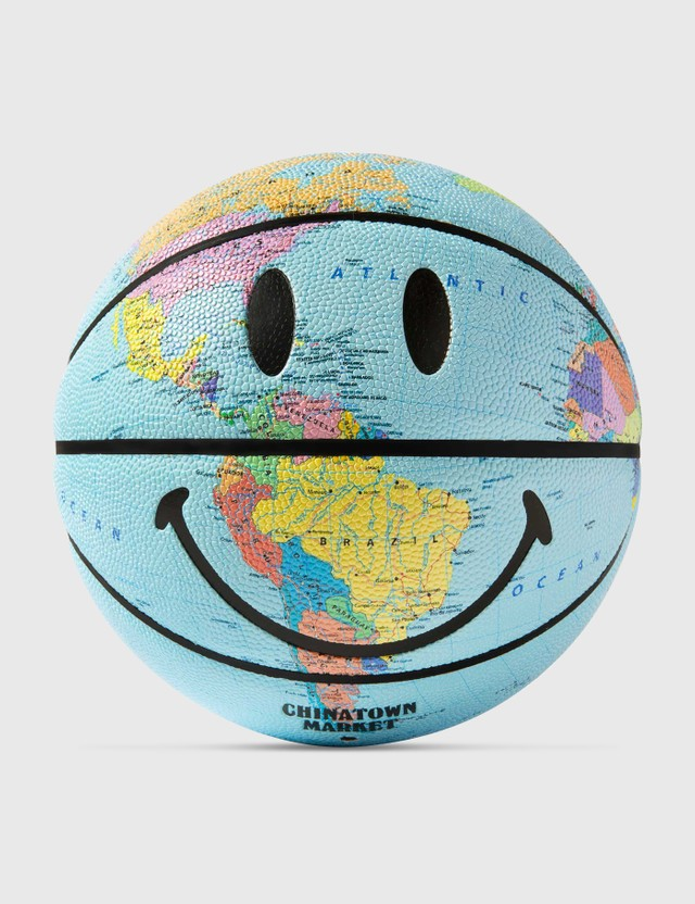 Chinatown Market Smiley Earth Basketball Blue Unisex