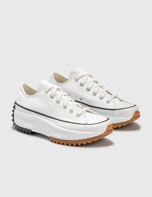 Converse Run Star Hike Low Top White/black/gum Women