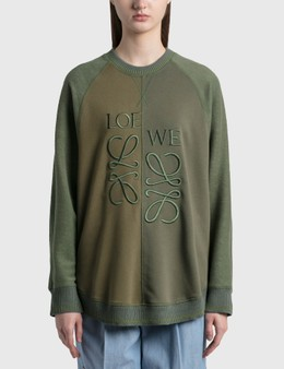 Loewe Wool-blend Anagram Sweatshirt