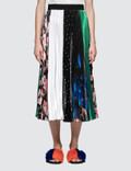 MSGM Iconic Printed Patchwork Skirt Picture