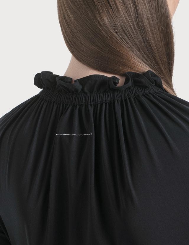 MM6 Maison Margiela Lycra Bodysuit Black Women