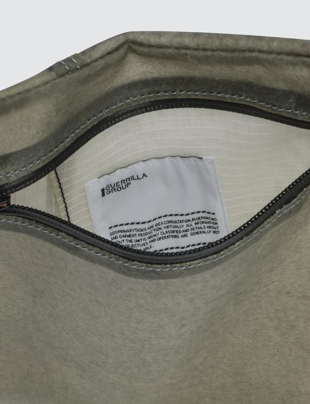 Guerrilla-group Transparent Leather Bag