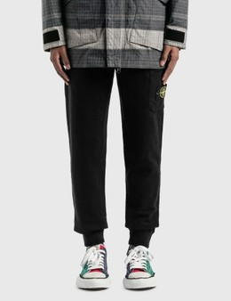 Stone Island Compass Patch Logo Classic Sweatpants
