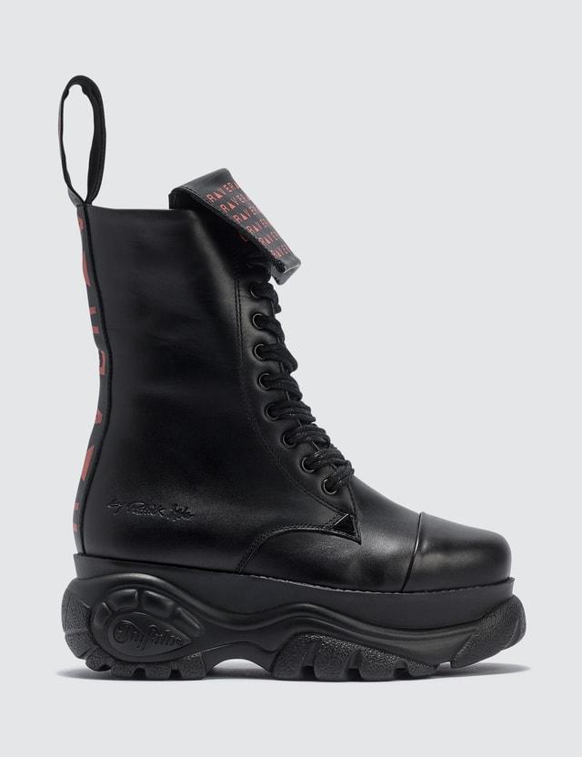 Buffalo London Buffalo X Patrick Mohr Rave Low Boots