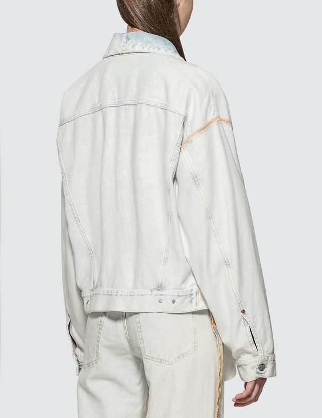 MM6 Maison Margiela Inside Out Denim Jacket