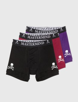 Mastermind World Cotton Boxer Set Of 3