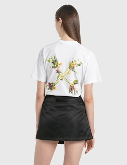 Off-White Flock Arrow Casual T-Shirt