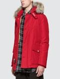 Woolrich Arctic Anorak Fire Red Men