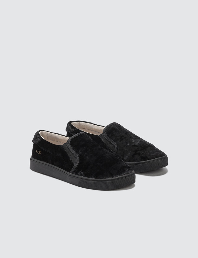 AKID Liv Crushed Velvet Black Kids
