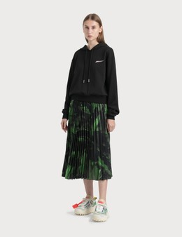 Off-White Brushstroke Plisse Skirt