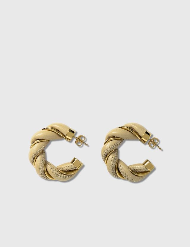 Bottega Veneta Twist Earrings