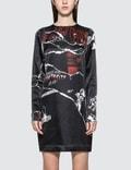McQ Alexander McQueen Satin L/S Dress Picture