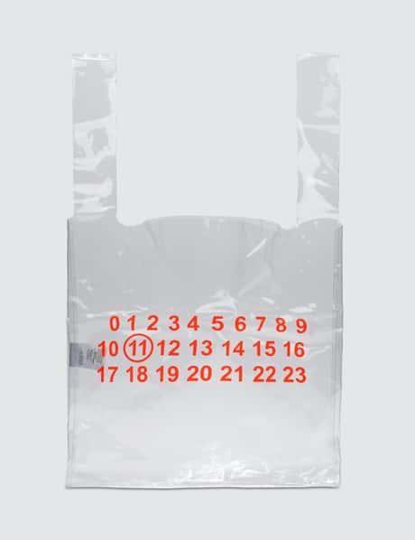 메종 마르지엘라 Maison Margiela Transparent Shopper Bag