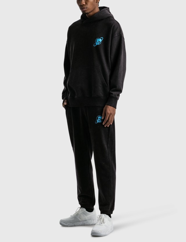 Earthling Collective E Icon Planet Oversize Hoodie Black Men