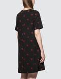 McQ Alexander McQueen Cut Babydoll Dress