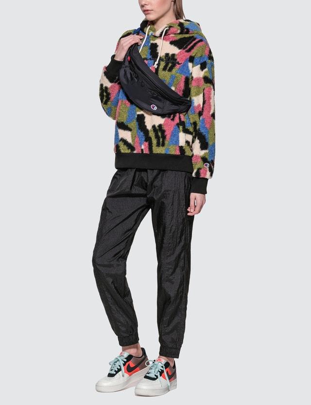 Champion Reverse Weave Fleece Big Script Hoodie Multicolor Women