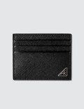 Prada Triangle Logo Credit Card Holder Picture