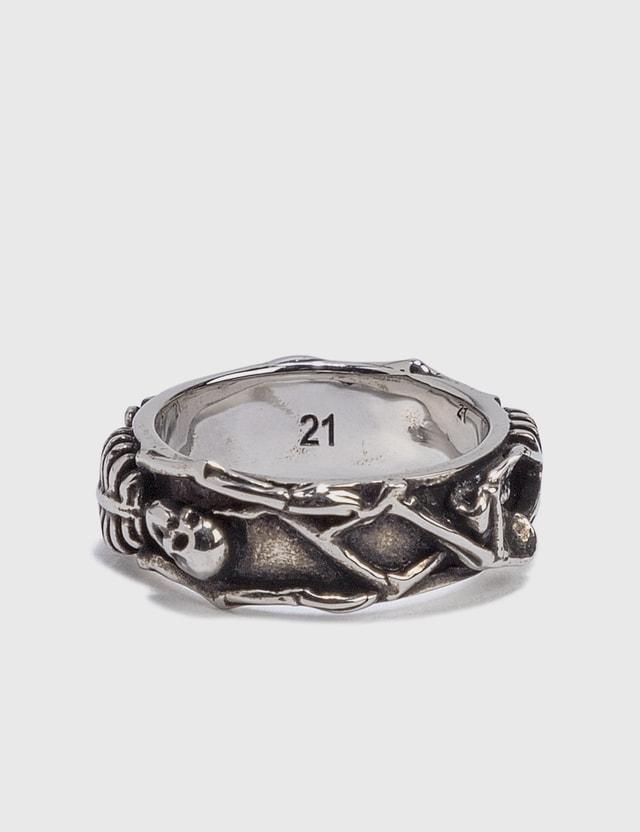 Alexander McQueen Dancing Skeleton Ring