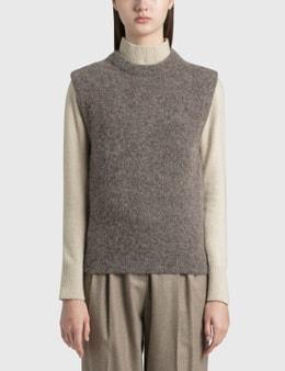 Nothing Written Brushed Alpaca Sweater Vest