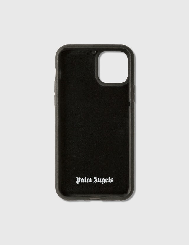 Palm Angels Palm Angels Logo iPhone Case 11 Pro Black White Men