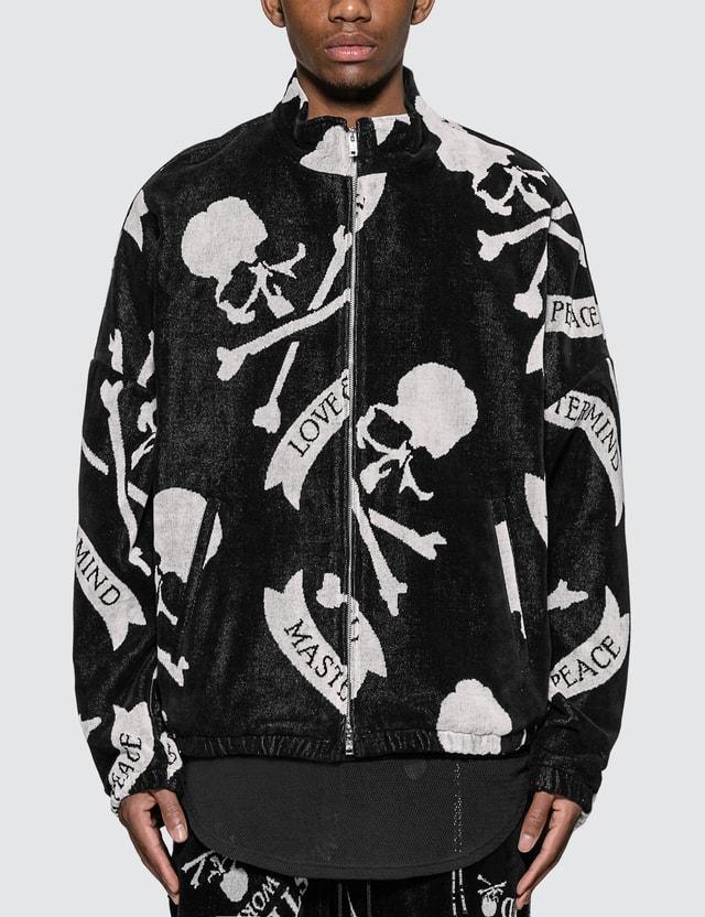 Mastermind World Allover Skull Logo Jacket
