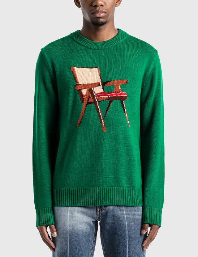 Casablanca The Art Of Sitting Knitted Sweater =e25 Men