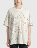 JW Anderson Oscar Wilde Print Oversized T-shirt Picture