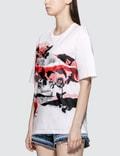 Alexander McQueen Rose Skull Printed T-shirt