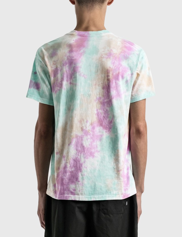 Nike Pastel Tie Dye T-Shirt White/football Grey/light Dew/white Men
