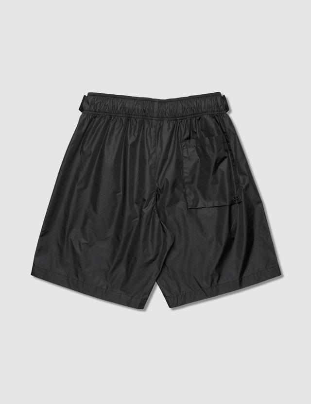 Off-White Logo Swim Shorts