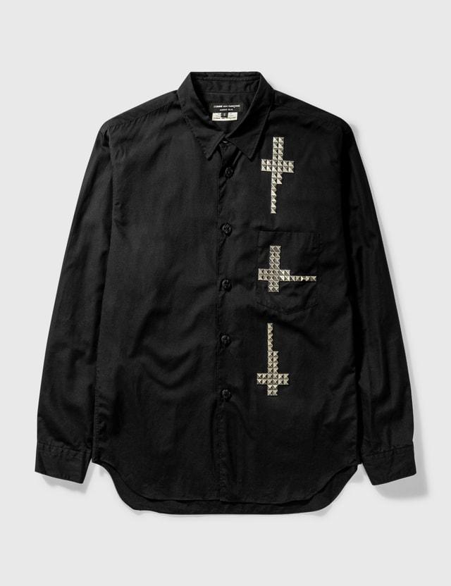 Comme des Garçons HOMME PLUS Comme Des Garçons Homme Plus Studs Shirt Black Archives