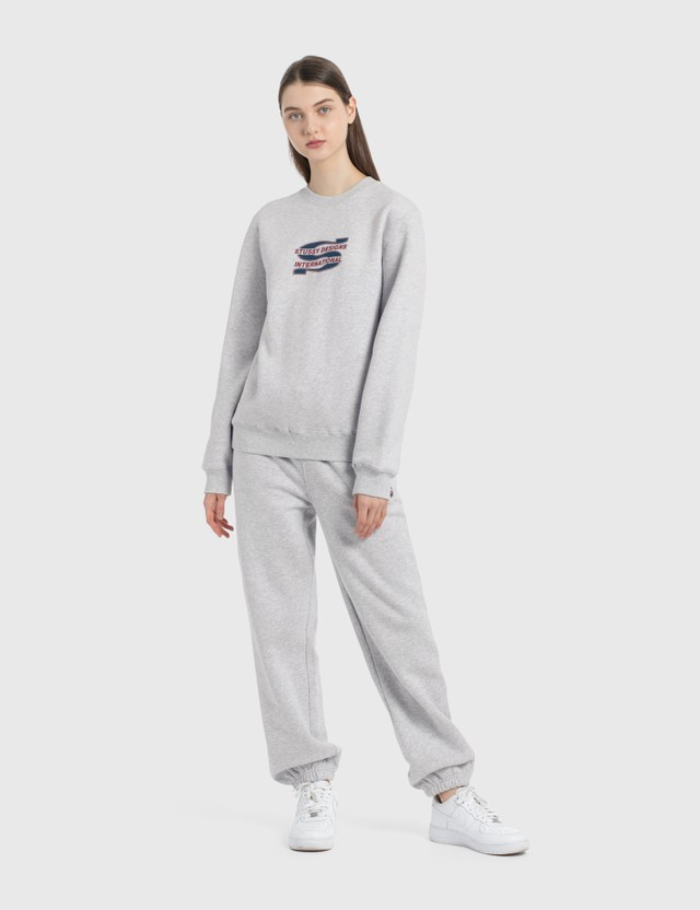 Stussy Steam Sweatpants Ash Heather Women
