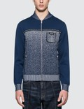 Prada Melange Knitted Jacket