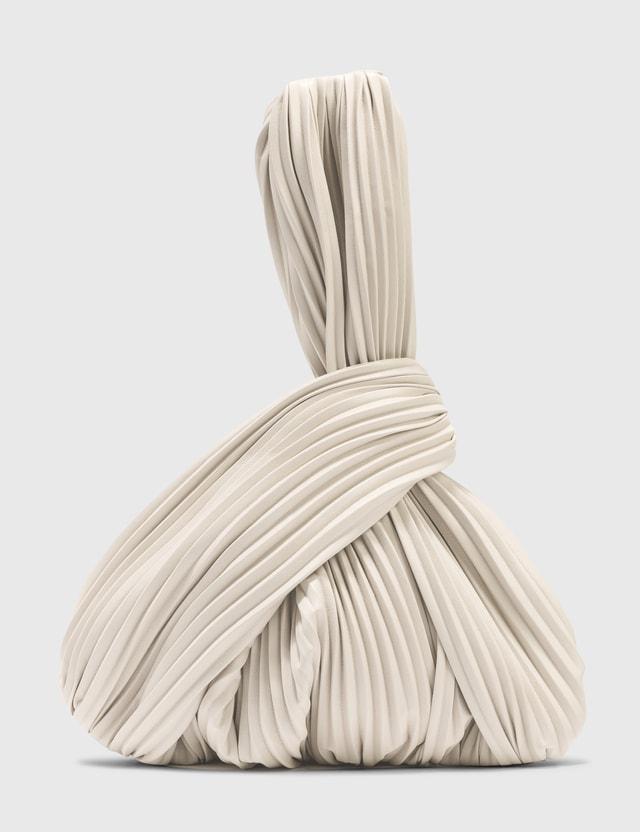Nanushka Jen Vegan Leather Pleated Bag