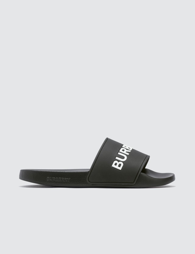 Burberry Kingdom Motif Slides