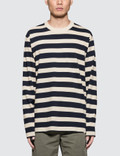 Norse Projects Johannes Rugby Stripe L/S T-Shirt Picutre