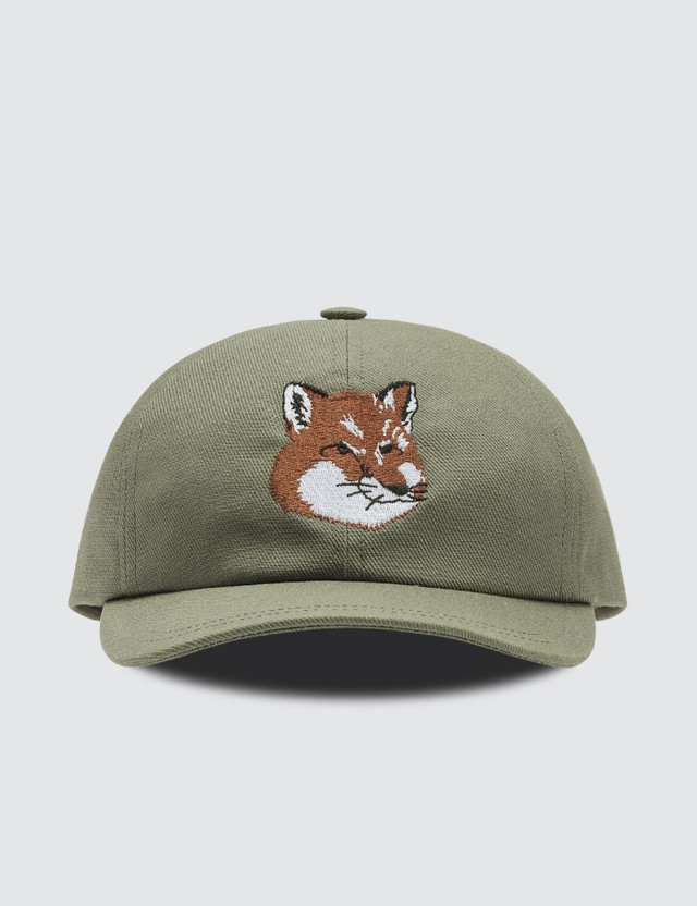Maison Kitsune Fox Head 6p Cap