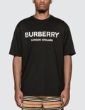 Burberry Logo Print Cotton T-shirt Picture
