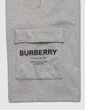 Burberry Horseferry Print Cotton Drawcord Shorts