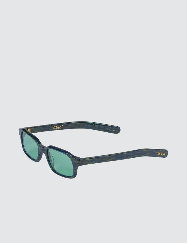 FLATLIST Hanky with Solid Teal Lens