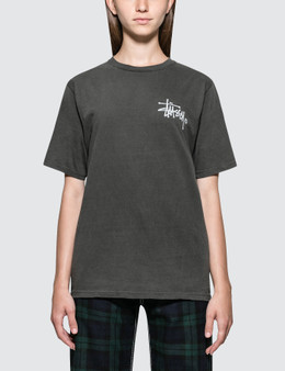 Stussy Basic Logo Pig Dyed. Short Sleeve T-shirt