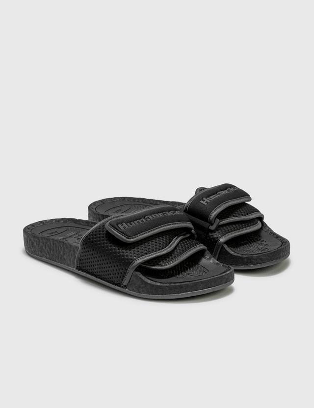 Adidas Originals Pharrell Williams Chancletas HU Slides Core Black/utility Black/core Black Women